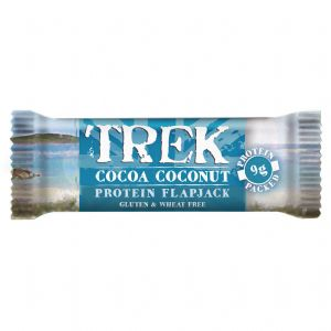 Cocoa Coconut Trek Protein Flapjack - Gluten & Wheat Free 50g